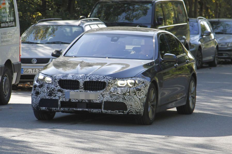 Facelift BMW 5er F10, F11