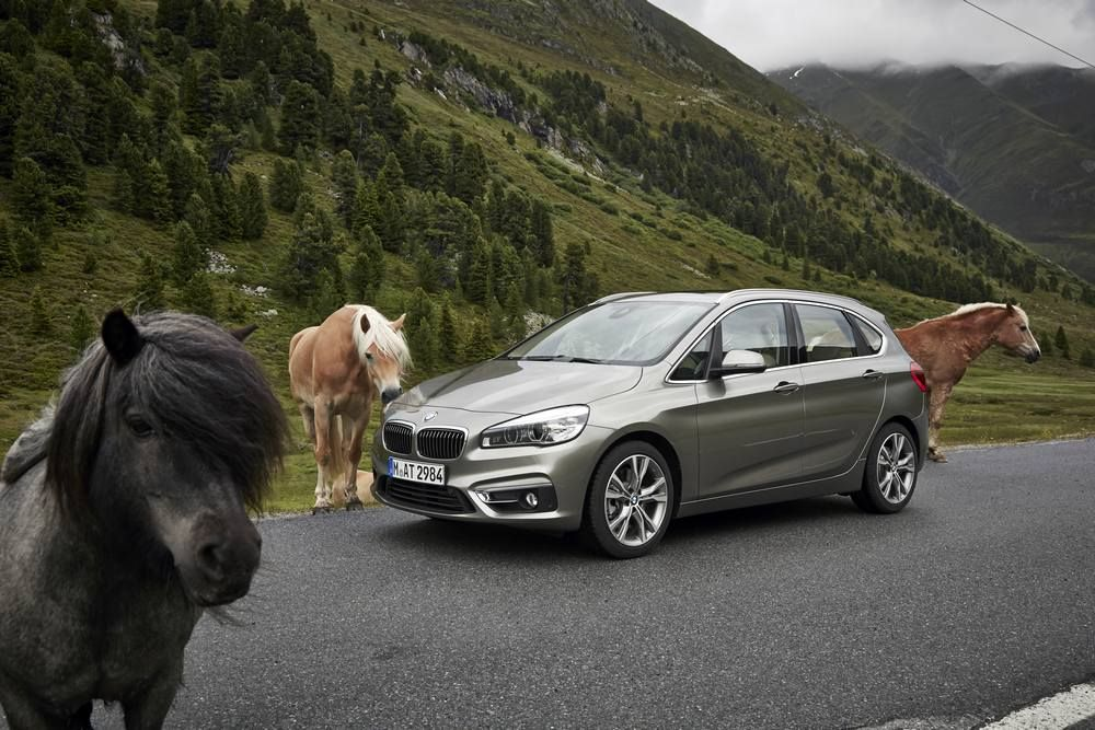 72 Bilder vom BMW 2er Active Tourer