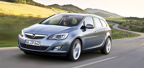 Opel Astra Sports Tourer ab 18.000 Euro