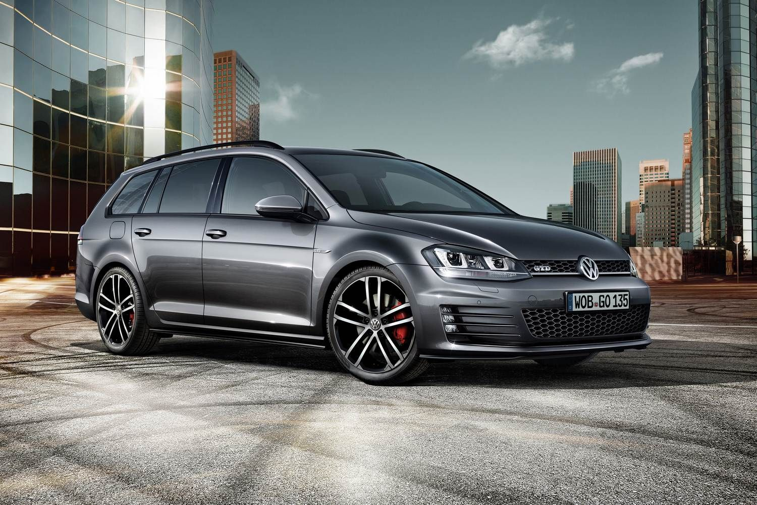 VW Golf Variant GTD 2015 – 2